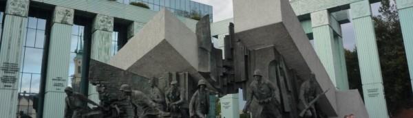 ワルシャワ蜂起記念碑、 ワルシャワ、Poland