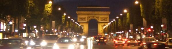 凱旋門、パリ、France