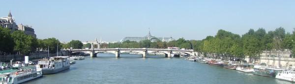 コンコルド橋とグラン・パレ、パリ、Paris、France
