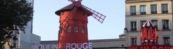 ムーランルージュ、ブランシュ広場、モンマルトル、パリ、Paris、France