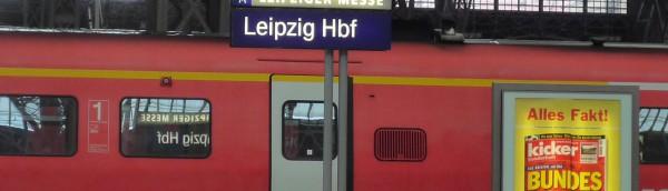DB ライプツィヒ駅、Germany